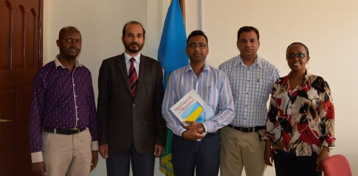 Open University of Mauritius visits UoK for collaboration