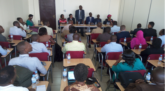 QUALITY STANDARDS AND PROFESSIONALISM REMAINS OUR TOP PRIORITY- PROF. NSHUTI TELLS UoK LECTURERS
